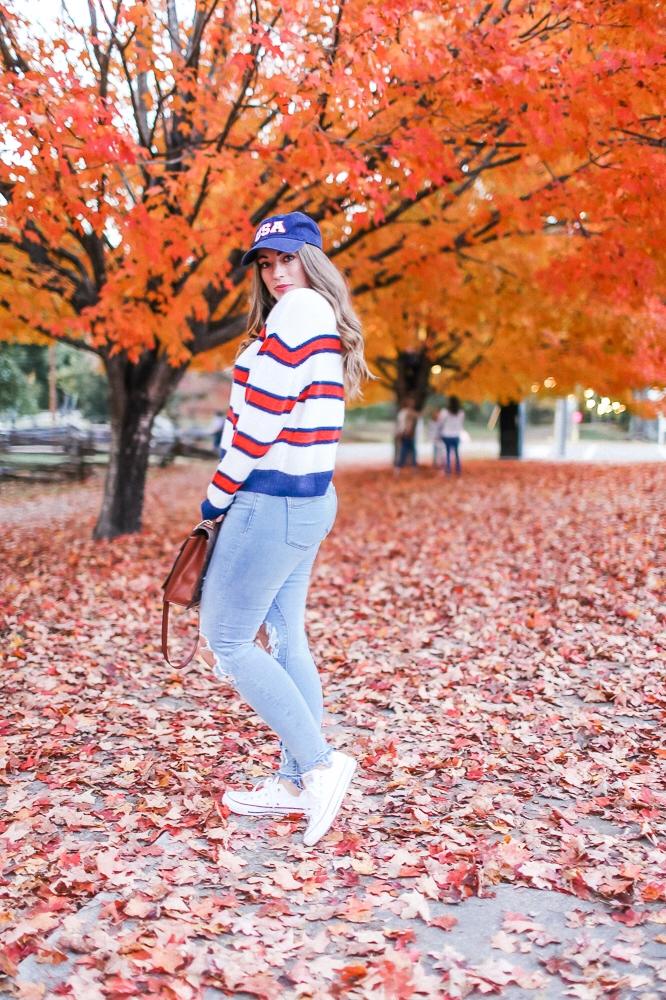 BrittanyCourtney_AmericanStripeSweater2