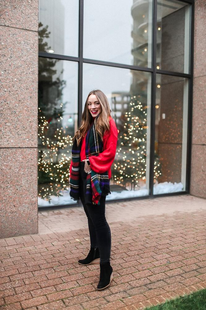 BrittanyACourtney_RedNordstormSweater_Christmas2