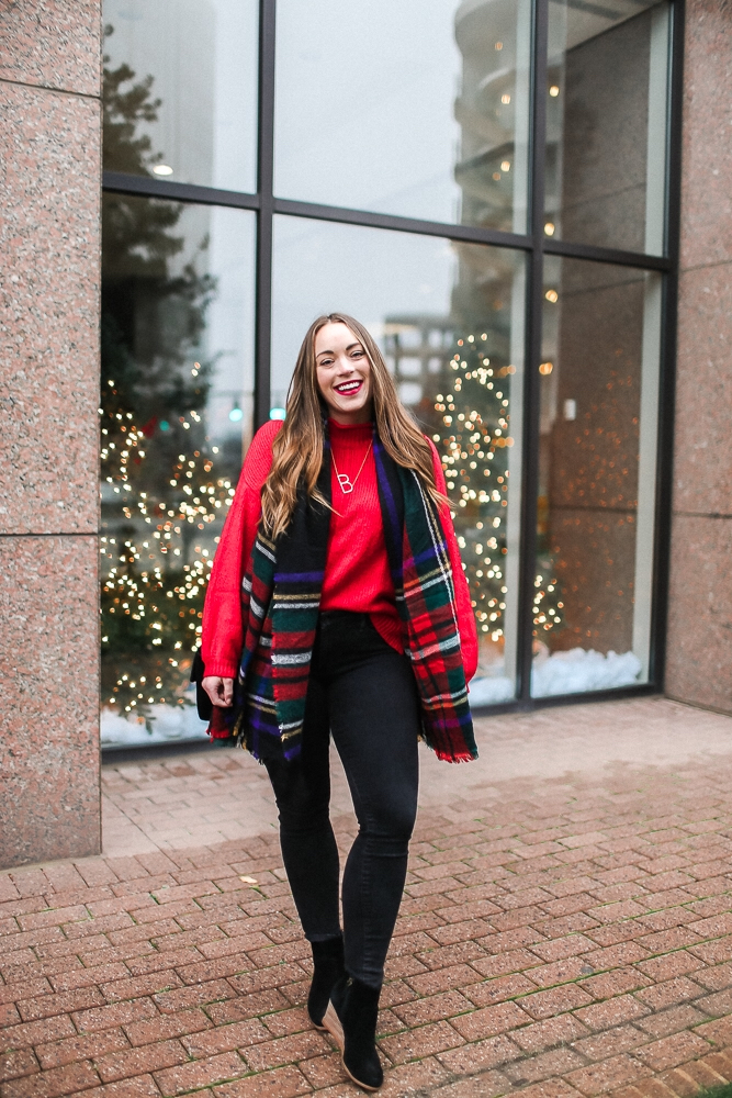 BrittanyACourtney_RedNordstormSweater_Christmas3