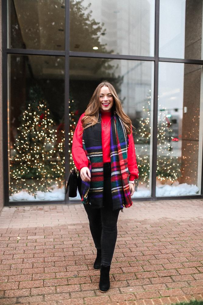 BrittanyACourtney_RedNordstormSweater_Christmas7