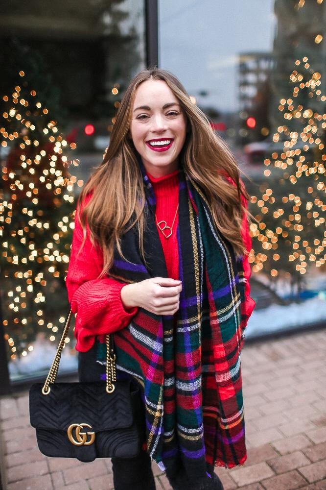 BrittanyACourtney_RedNordstormSweater_Christmas8