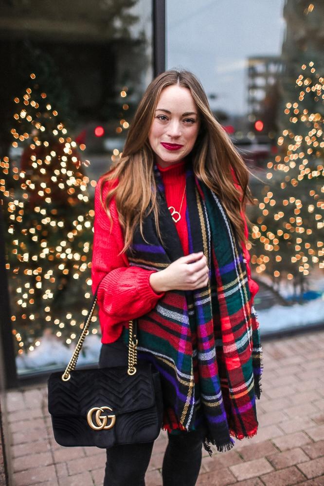 BrittanyACourtney_RedNordstormSweater_Christmas9