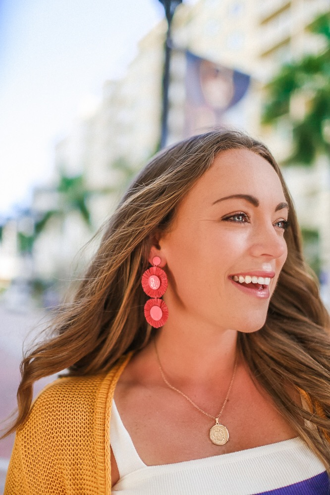 Brittany Ann Courtney SugarFix by Bauble Bar Statement Earrings