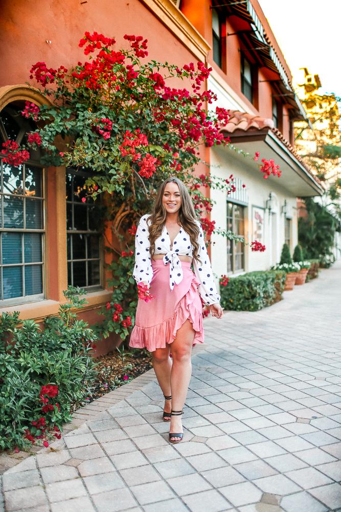 Nakd Ruffle Tier Skirt Brittany Ann Courtney Boca Raton
