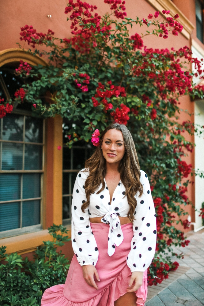Brittany Ann Courtney Boca Raton Wrap Skirt