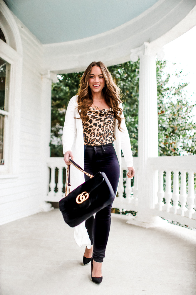 Nasty Gal Leopard Camisole