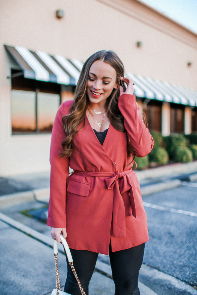 Valentine's Day Blazer Dress