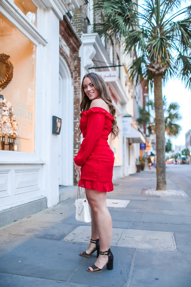 Revolve Red Set Date Night Look