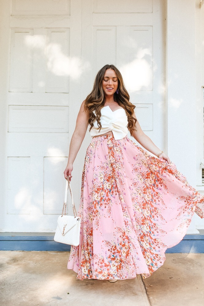 Summer Guest Wedding Skirt
